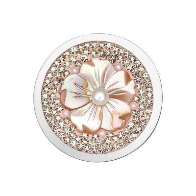 CEM Coin rosé Blüte