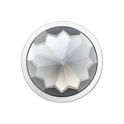 graues 3D Kristall Coin CS228