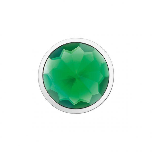 Coin 3D Element Kristall grün