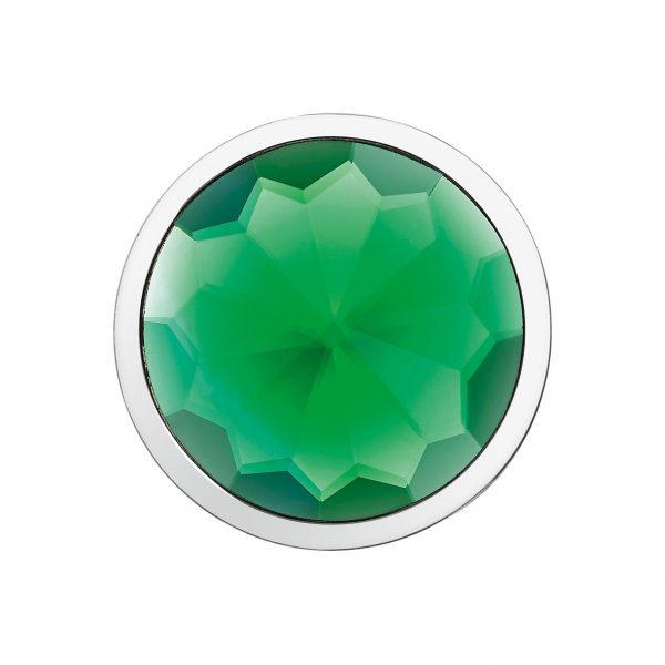 smaragdgrüner 3D-Kristall-Coin CS232