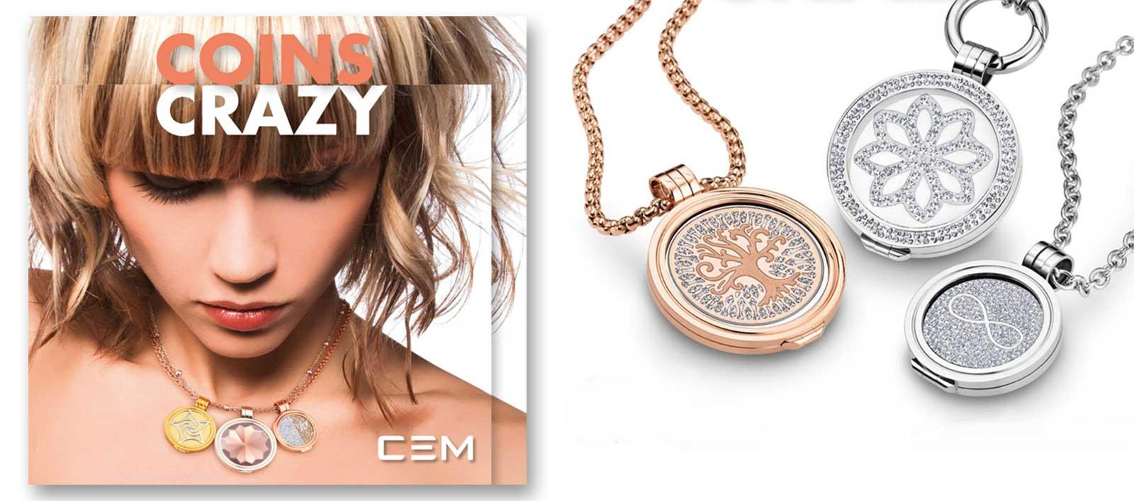 Coins-Schmuck CEM Coins und Ketten