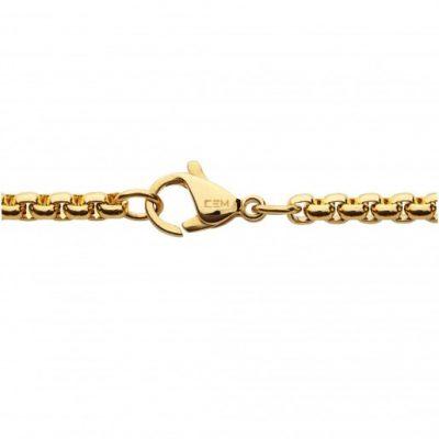 CEM Kette Coinskette Venezia Edelstahl gelbvergoldet BKS5203 BKS5204