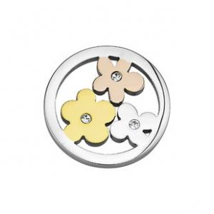 CS123 CS124 CEM Coin Element Blumen tricolor