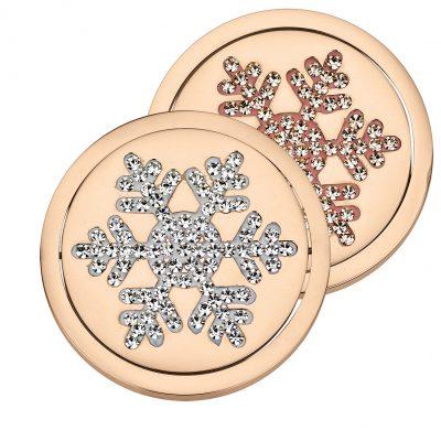 Coin Element drehbar Eiskristall rosé CS 307 CS308