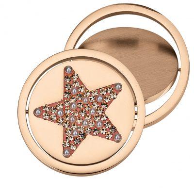 Coin Element drehbar Stern rosé CS 309 CS310