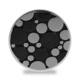 Lockit Kreise schwarz-silber L0500