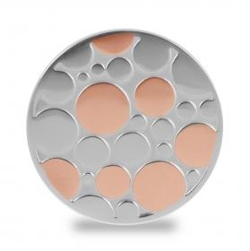 Lockit Kreise rosé-silber L0502
