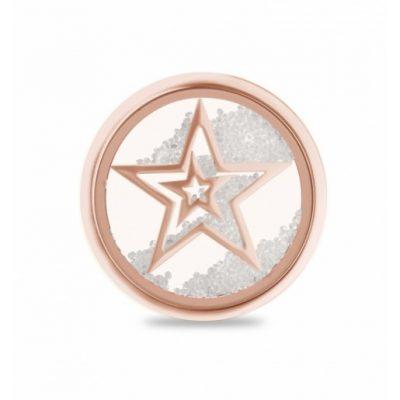 Glas-Lockit Sterne rosé