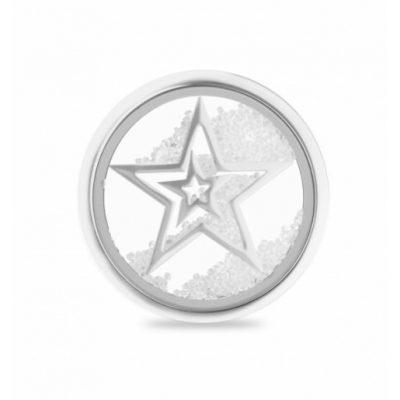 Glas-Lockit mit Sternen