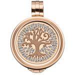 Coin mit Lebensbaum in rosé