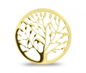 Duo Lockit Baum des Lebens gelb
