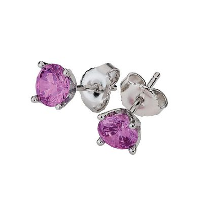 Ohrstecker mit Swarovski-Kristall fancy-purple S00367O