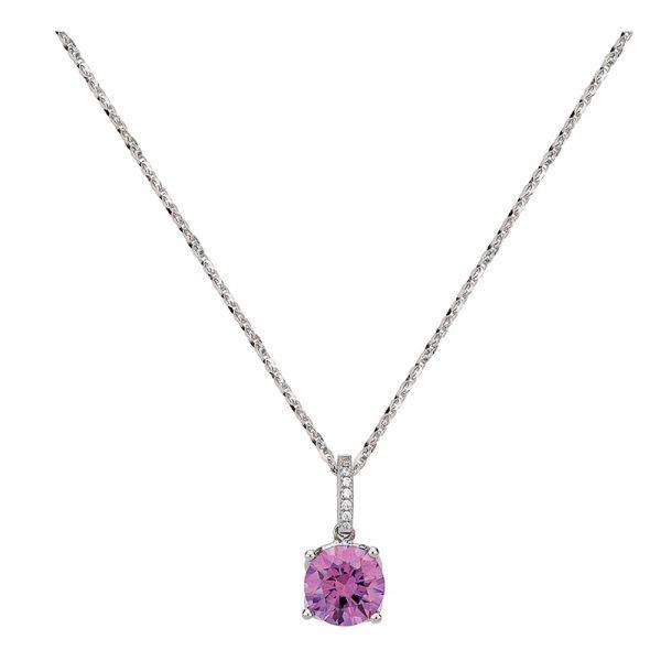 Anhänger mit Swarovski-Kristall fancy-purple S00367C